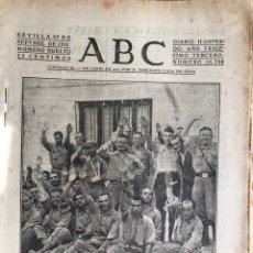 Militaria: ABC SEVILLA GUERRA CIVIL SEPTIEMBRE 1937 PRESOS REPUBLICANOS BRUNETE. ARAGON. ASTURIAS. Lote 157739597