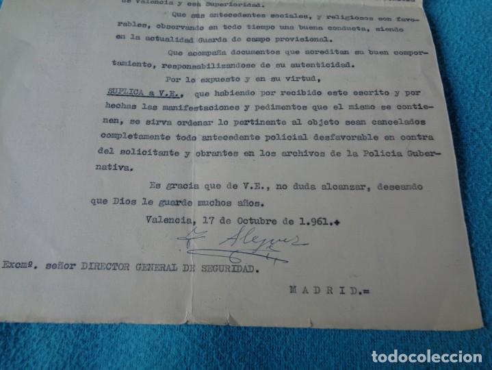 Militaria: lote titulo de nombramiento de agente del cuerpo de seguridad grupo civil 1938 valencia + 6 postales - Foto 17 - 158798462
