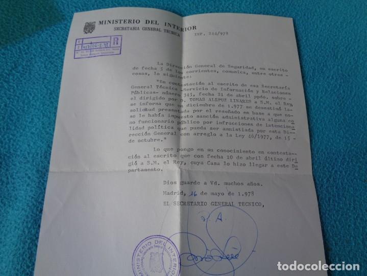 Militaria: lote titulo de nombramiento de agente del cuerpo de seguridad grupo civil 1938 valencia + 6 postales - Foto 22 - 158798462