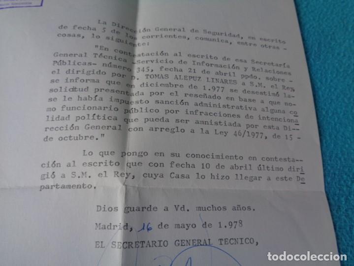 Militaria: lote titulo de nombramiento de agente del cuerpo de seguridad grupo civil 1938 valencia + 6 postales - Foto 23 - 158798462