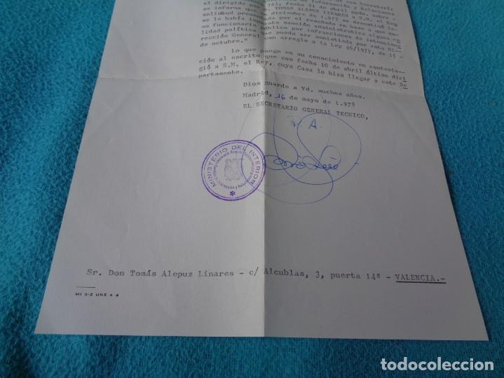 Militaria: lote titulo de nombramiento de agente del cuerpo de seguridad grupo civil 1938 valencia + 6 postales - Foto 24 - 158798462