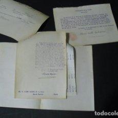 Militaria: 1937 REQUISA DE UN PISO DE LA CASA BARRIÉ Y LEVANTAMIENTO CASI INMEDIATO DE LA MISMA. Lote 160446134