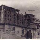 Militaria: VISTAS SEMINARIO TERUEL DESTRUIDO LLEGADA TROPAS LEGION CONDOR ENERO 1938 GUERRA CIVIL. Lote 160786354