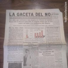 Militaria: LA GACETA DEL NORTE 25 DE MAYO 1938. BILBAO . Lote 161003706