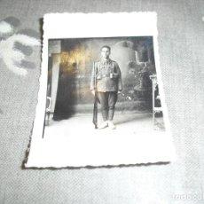 Militaria: FOTO SOLDADO EJERCITO POPULAR REPUBLICANO CON PERTRECHOS FUSIL RUSO GUERRA CIVIL . Lote 161932974