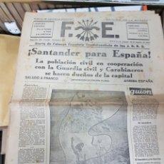 Militaria: LOTE DIARIOS FALANGE ESPAÑOLA DE LAS JONS. Lote 165438337