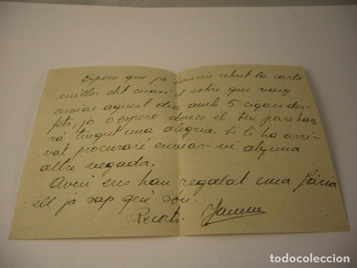 Militaria: CARTA CENSURA DE GUERRA 1938 - Foto 4 - 165686270