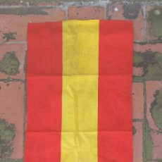 Militaria: BANDERA ESPAÑOLA GUERRA CIVIL. Lote 165830657