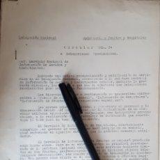Militaria: FRENTES Y HOSPITALES SERVICIO DE INFORMACIÓN DE HERIDOS Y COMBATIENTES 1938 GUERRA CIVIL. Lote 165873222