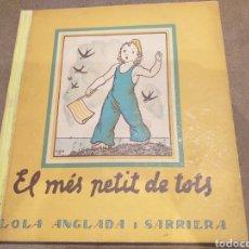 Militaria - Libro el mes petit de tots .ORIGINAL. Edicion 1937 . Comissariat propaganda . Guerra civil . - 166330680