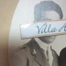 Militaria: AVIACION DOCUMENTOS TENIENTE CORONEL PILOTO CONSEJO GUERRA 1939 INDULTO DE PENA CAPITAL MEDALLA. Lote 166341754