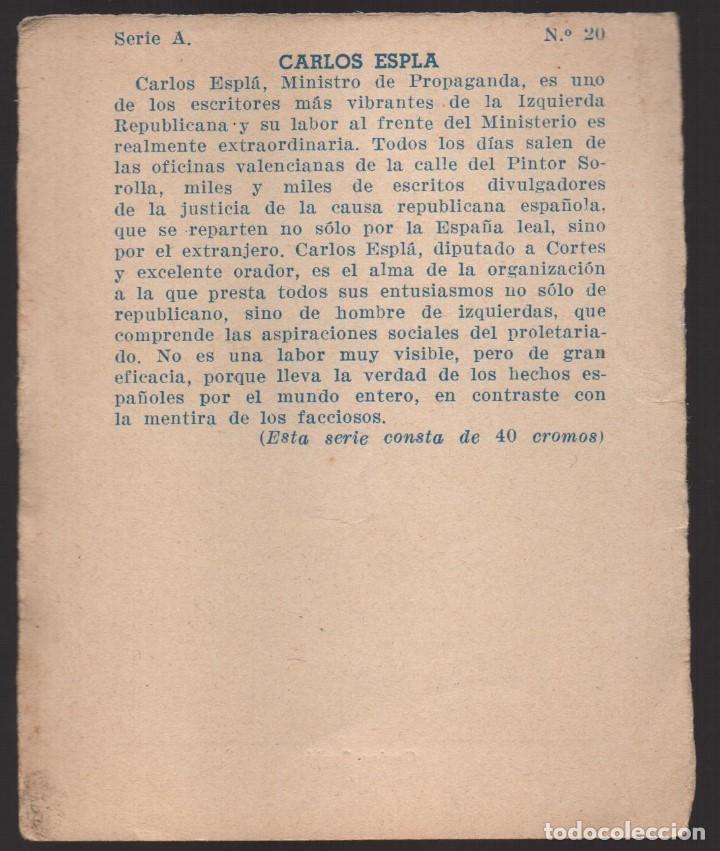 Militaria: GUERRA CONTRA EL FASCISMO. -CARLOS ESPLA- Nº 20, VER FOTO - Foto 2 - 167661924