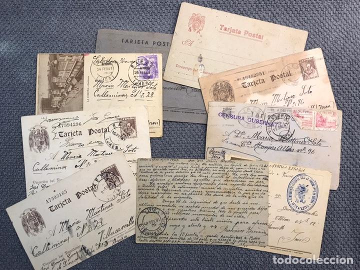 Militaria: REPUBLICA ESPAÑOLA Y LA GUERRA CIVIL. desde el Campo de Concentración de Betanzos CORUÑA (h.1939?) - Foto 4 - 168349318