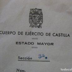 Militaria: DOCUMENTO CONCEDIENDO LA CRUZ ROJA DEL MERITO MILITAR - FIRMA GENERAL JEFE EJERCITO DE CASTILLA. Lote 169185204