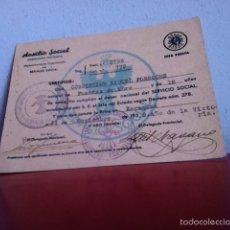 Militaria: AUXILIO SOCIAL ( GUERRA CIVIL) 1939. Lote 169785596