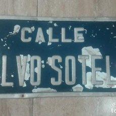 Militaria: PLACA CALLE CALVO SOTELO.. Lote 171166019
