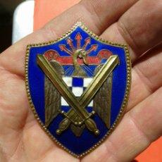 Militaria: PLACA DE LAS MILICIAS UNIVERSITARIAS. Lote 171240538