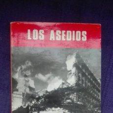 Militaria: LOS ASEDIOS. GUERRA CIVIL. EDITORIAL SAN MARTIN.. Lote 171635482