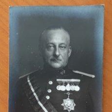 Militaria: POSTAL MIGUEL PRIMO DE RIVERA, SIN CIRCULAR, ORIGINAL, BUEN ESTADO. Lote 172162733