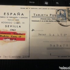 Militaria: SEVILLA. SEPTIEMBRE 1937. GUERRA CIVIL.. Lote 172245665