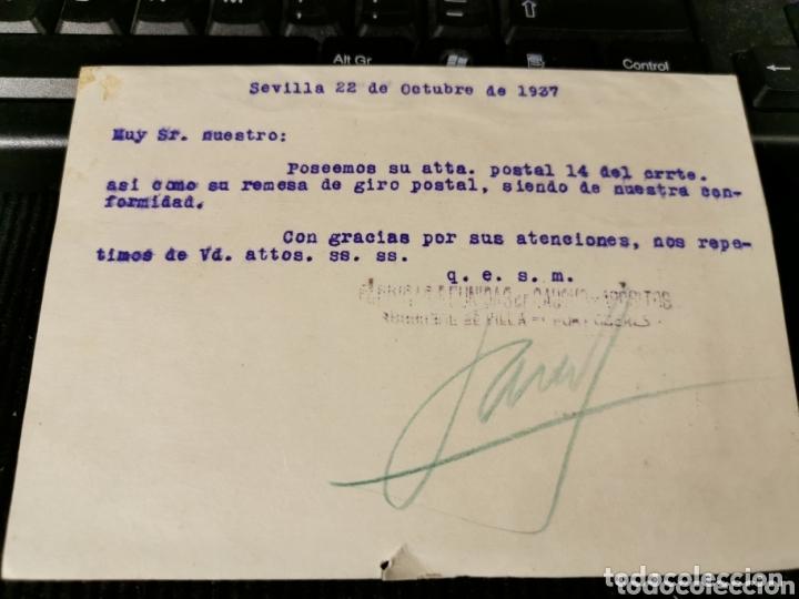 Militaria: Fracsz ..Sevilla 1937. - Foto 2 - 172309042