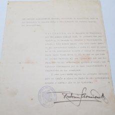 Militaria: LICENCIA A SARGENTO LEGION CONDOR 1939. Lote 173623224