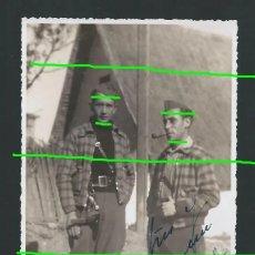 Militaria: PACO. VALENCIA. 24-XII-1936. DEDICADA. FOTÓGRAFO POR IDENTIFICAR. SELLO CASI LEGIBLE.. Lote 174303739