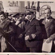 Militaria: DESTIERRO RICARDO ZAMORA MARSELLA FOTO RARISIMA AGENCIA KEYSTONE GUERRA CIVIL. Lote 174545144