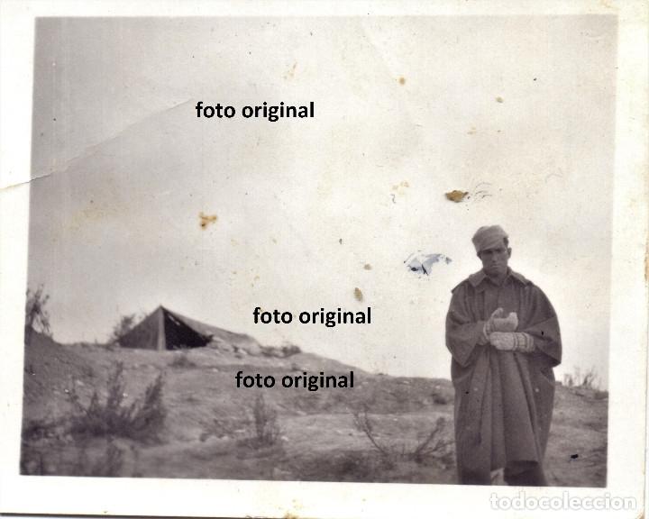 SOLDADO ITALIANO CTV FRENTE ARAGON ZONA BELCHITE (ZARAGOZA) 1937 GUERRA CIVIL (Militar - Guerra Civil Española)
