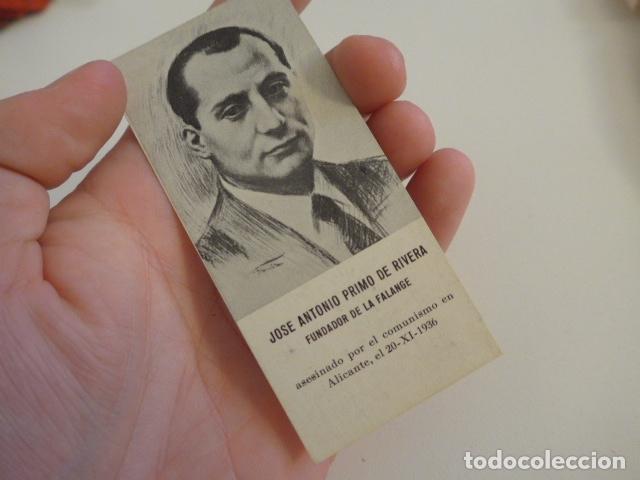 Militaria: Lote de documentos, fotos, postales, recordatorios de falange, Jose Antonio primo de rivera. - Foto 4 - 175159220