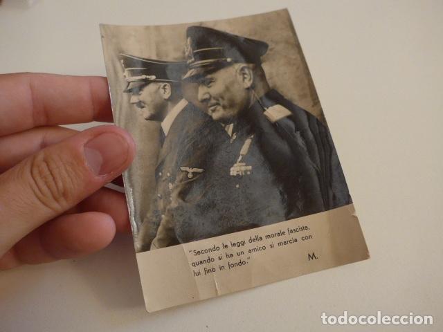 Militaria: Lote de documentos, fotos, postales, recordatorios de falange, Jose Antonio primo de rivera. - Foto 6 - 175159220