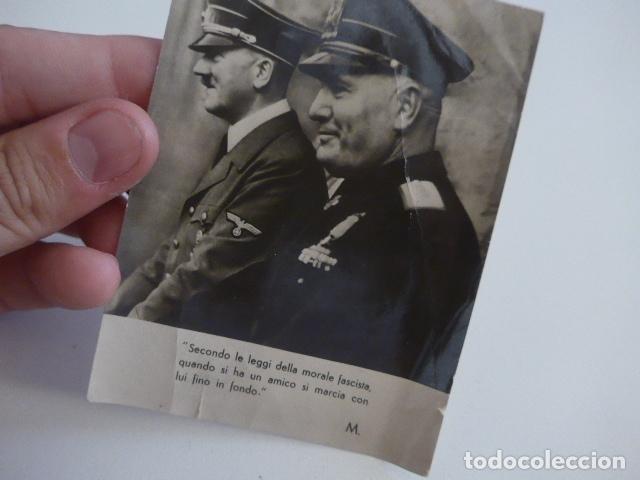 Militaria: Lote de documentos, fotos, postales, recordatorios de falange, Jose Antonio primo de rivera. - Foto 7 - 175159220