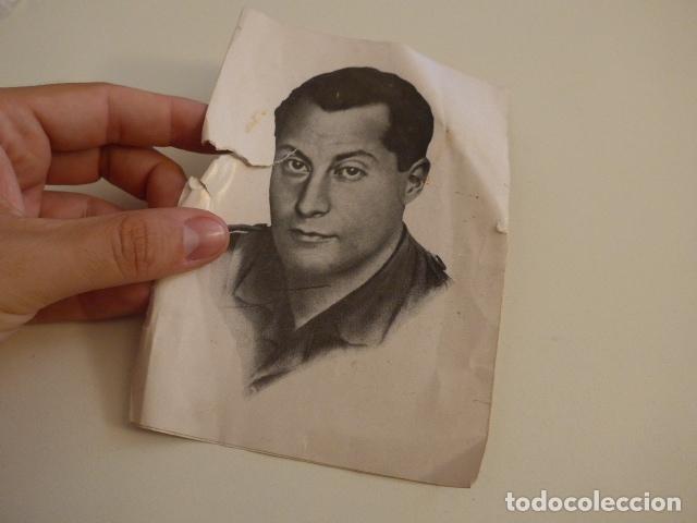 Militaria: Lote de documentos, fotos, postales, recordatorios de falange, Jose Antonio primo de rivera. - Foto 10 - 175159220