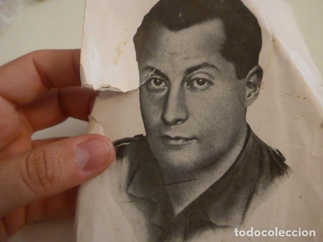 Militaria: Lote de documentos, fotos, postales, recordatorios de falange, Jose Antonio primo de rivera. - Foto 11 - 175159220