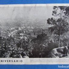 Militaria: **1** GUERRA CIVIL. RECORTE REVISTA VERTICE Nº 11 JUNIO 1938. ANIVERSARIO LIBERACIÓN DE BILBAO.. Lote 175432933