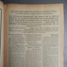 Militaria: PERIÓDICO GUERRA CIVIL TOMA DE COVADONGA - ASTURIAS 2/10/1937. Lote 177646054