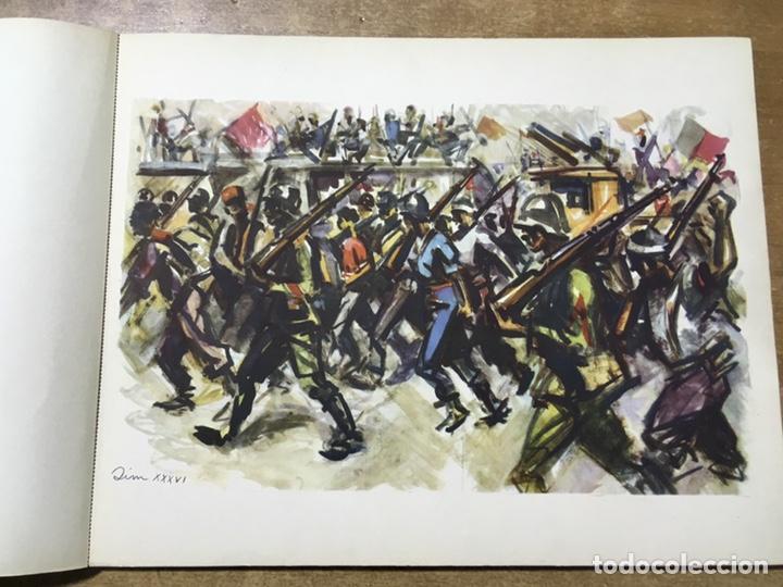 Militaria: ESTAMPAS DE LA REVOLUCIÓN ESPAÑOLA . 19 DE JULIO DE 1936. C.N.T.- F.A.I. guerra civil - Foto 6 - 177660362