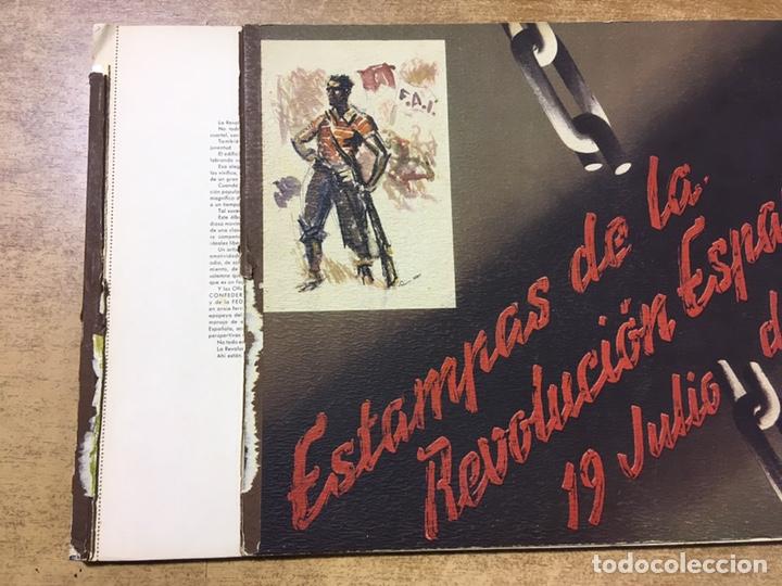 Militaria: ESTAMPAS DE LA REVOLUCIÓN ESPAÑOLA . 19 DE JULIO DE 1936. C.N.T.- F.A.I. guerra civil - Foto 16 - 177660362