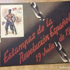 Militaria: ESTAMPAS DE LA REVOLUCIÓN ESPAÑOLA . 19 DE JULIO DE 1936. C.N.T.- F.A.I. GUERRA CIVIL. Lote 177660362