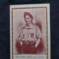 Militaria: ESTAMPA DE ANTONIO MOLLÉ LAZO. REQUETÉ CARLISTA. JEREZ DE LA FRONTERA - PEÑAFLOR. 1936.. Lote 178956345