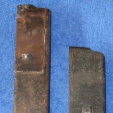 Militaria: LOTE 2 CARGADORES DE NARANJERO - VARIANTES - GUERRA CIVIL ESPAÑOLA (VACÍOS). Lote 179140957