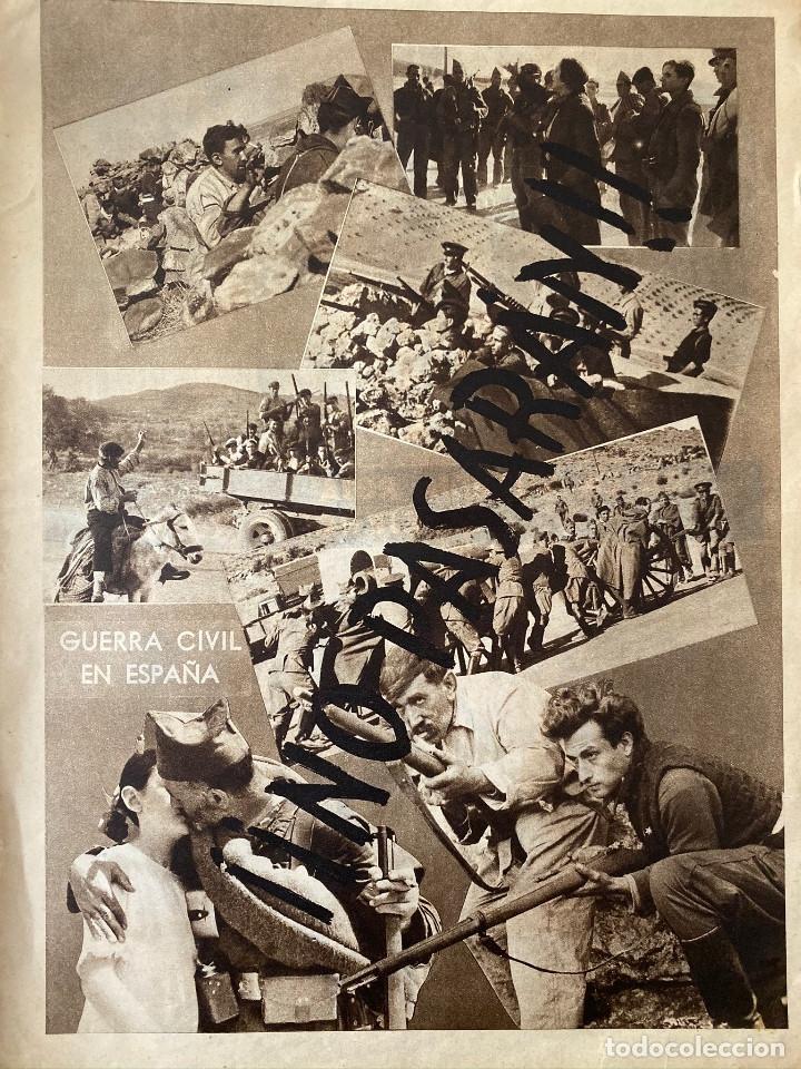 Militaria: Mundo obrero, número extraordinario de 1937 Dedicado al aniversario de la URSS, guerra civil - Foto 3 - 180180183