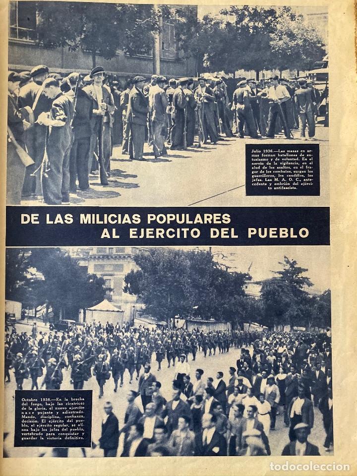 Militaria: Mundo obrero, número extraordinario de 1937 Dedicado al aniversario de la URSS, guerra civil - Foto 4 - 180180183