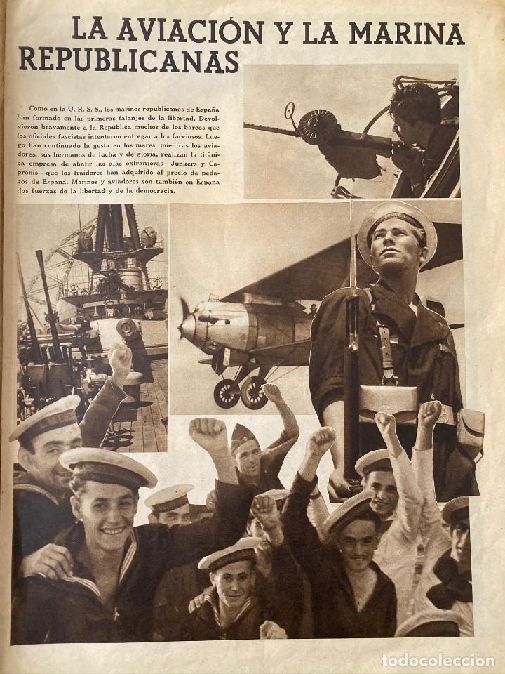 Militaria: Mundo obrero, número extraordinario de 1937 Dedicado al aniversario de la URSS, guerra civil - Foto 5 - 180180183