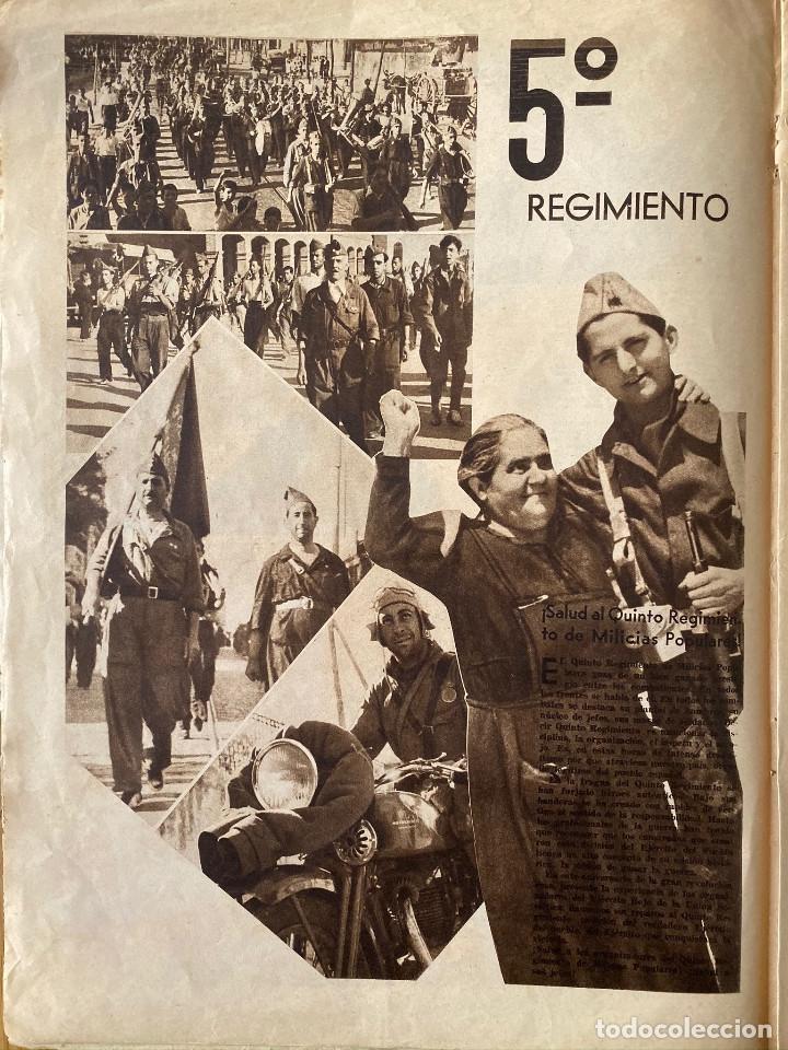 Militaria: Mundo obrero, número extraordinario de 1937 Dedicado al aniversario de la URSS, guerra civil - Foto 7 - 180180183