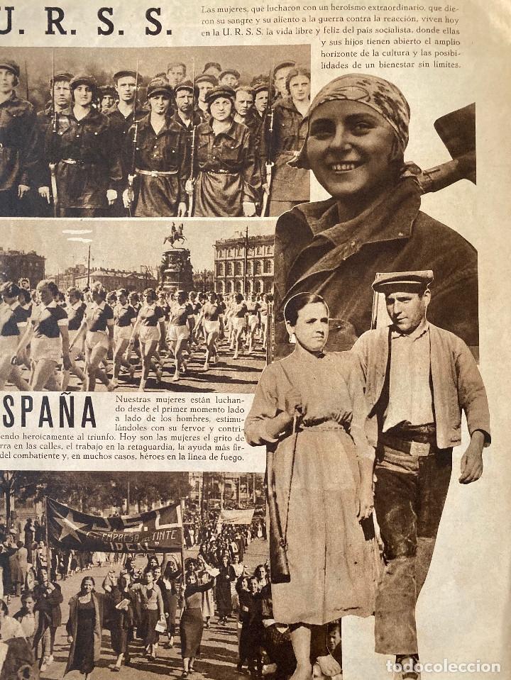 Militaria: Mundo obrero, número extraordinario de 1937 Dedicado al aniversario de la URSS, guerra civil - Foto 12 - 180180183