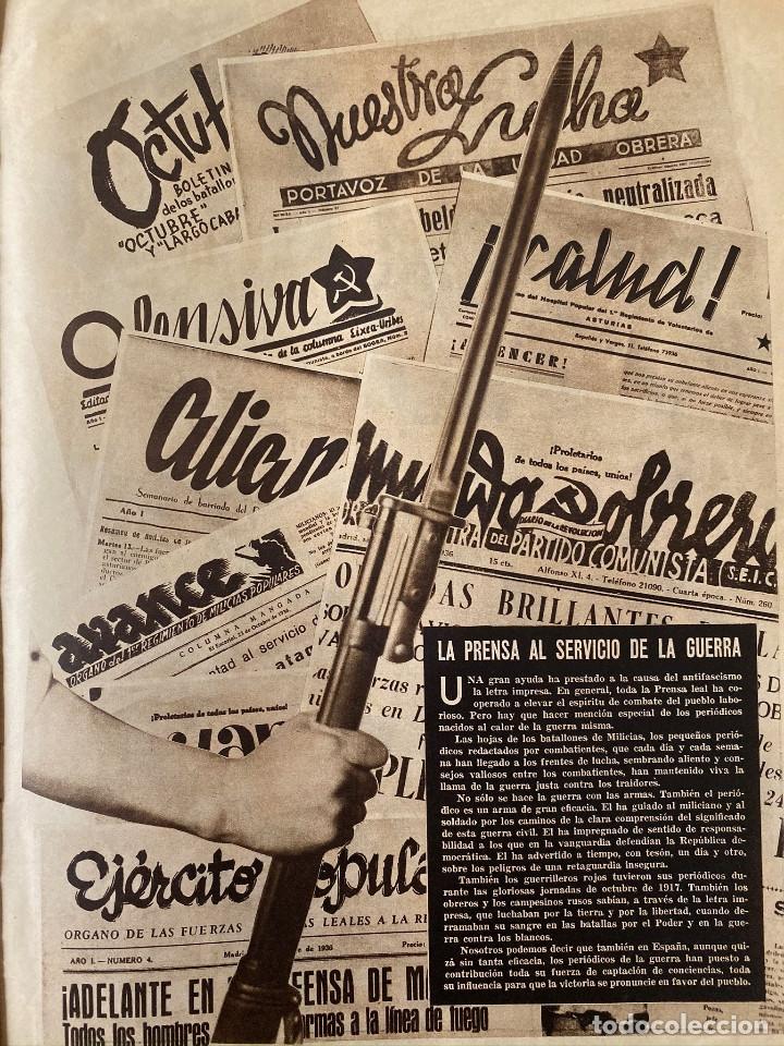 Militaria: Mundo obrero, número extraordinario de 1937 Dedicado al aniversario de la URSS, guerra civil - Foto 13 - 180180183