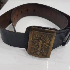 Militaria: ANTIGÜO CINTURON DE LA GUARDIA CIVIL. Lote 180482108