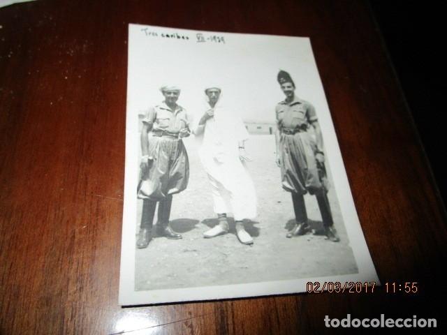 Militaria: tres CARIBES REGULARES FIN GUERRA CIVIL FOTO INEDITA REGULARES ex COMBATIENTES LEGION - Foto 3 - 180991107