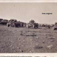 Militaria: TODOTERRENO ITALIANOS 149 FRENTE ARAGON BATALLA DEL EBRO 1938 GUERRA CIVIL CTV. Lote 181592257
